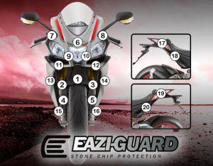 Eazi-Guard Paint Protection Film for Aprilia RSV4 2015 - 2017, gloss or matte