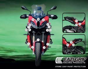 Eazi-Guard Paint Protection Film for BMW S1000XR 2020, gloss or matte