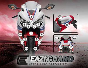 Eazi-Guard Paint Protection Film for Honda CBR1000RR 2012 - 2016, gloss or matte