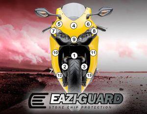 Eazi-Guard Paint Protection Film for Honda CBR1000RR 2008 – 2011, gloss or matte