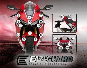 Eazi-Guard Paint Protection Film for Honda CBR1000RR 2017 - 2019, gloss or matte