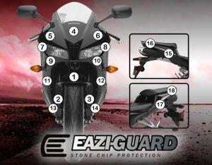Eazi-Guard Paint Protection Film for Honda CBR600RR 2013 - 2017, gloss or matte