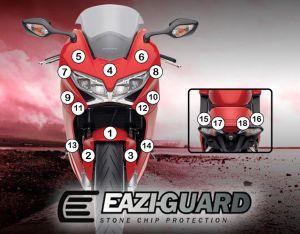 Eazi-Guard Paint Protection Film for Honda VFR800 2014 – 2017, gloss or matte