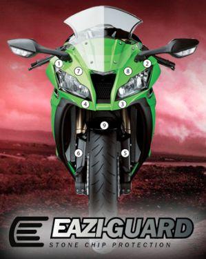 Eazi-Guard Paint Protection Film for Kawasaki ZX-10R 2011 - 2015, gloss or matte
