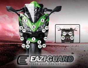 Eazi-Guard Paint Protection Film for Kawasaki Ninja 650 2017, gloss or matte