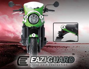 Eazi-Guard Paint Protection Film for Kawasaki Z900RS Cafe, gloss or matte