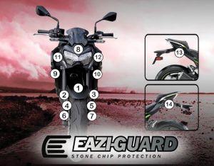Eazi-Guard Paint Protection Film for Kawasaki Z900 2020, gloss or matte