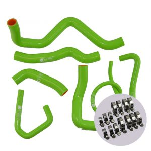 Eazi-Grip Silicone Hose and Clip Kit for Kawasaki ZX-6R 2009 - 2019, green
