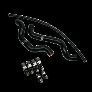 Eazi-Grip Silicone Hose and Clip Kit for Suzuki SV650 2003 – 2014, black