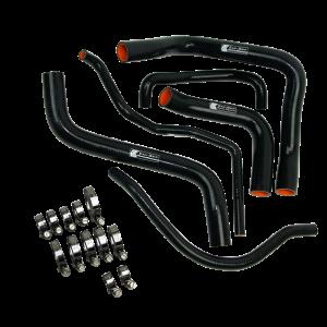 Eazi-Grip Silicone Hose and Clip Kit for Suzuki GSX-R600/750 2011, black