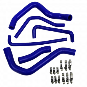 Eazi-Grip Silicone Hose and Clip Kit for Suzuki GSR 600 750, blue