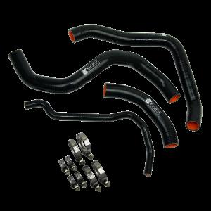 Eazi-Grip Silicone Hose and Clip Kit for Suzuki GSX-R1000, black