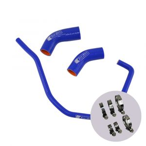 Eazi-Grip Silicone Hose and Clip Kit for Yamaha YZF-R1 MT-10, blue