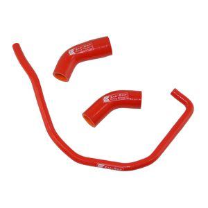 Eazi-Grip Silicone Hose Kit for Yamaha YZF-R1 YZF-R1M MT-10, red