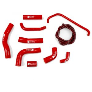 Eazi-Grip Silicone Hose Kit for Yamaha YZF-R6, red